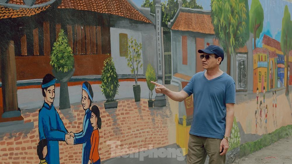 Khoác tranh bích họa lên bức tường công ty Rạng Đông sau vụ hoả hoạn ảnh 10