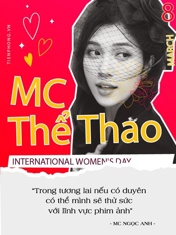MC thể thao Ngọc Anh được tặng bút danh vì nhan sắc xinh đẹp tựa mỹ nhân Hồng Kông ảnh 4