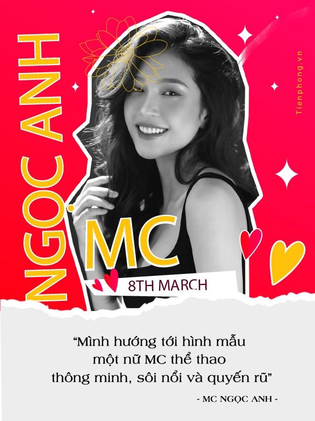 MC thể thao Ngọc Anh được tặng bút danh vì nhan sắc xinh đẹp tựa mỹ nhân Hồng Kông ảnh 3