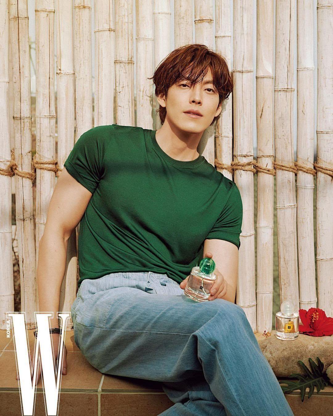 Nam thần Kim Woo Bin khoe body cường tráng, tái xuất sau thời gian điều trị ung thư ảnh 1