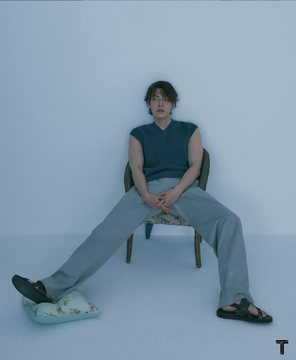 Nam thần Kim Woo Bin khoe body cường tráng, tái xuất sau thời gian điều trị ung thư ảnh 4