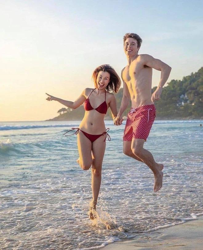 Những mỹ nhân Việt chăm diện bikini, rủ bạn trai cùng khoe body nóng bỏng ảnh 8