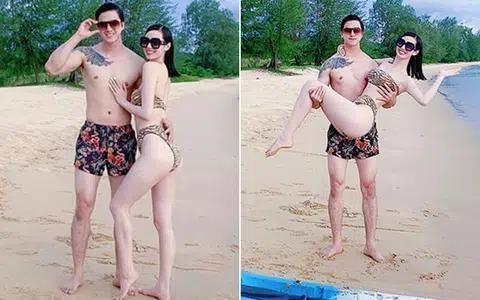 Những mỹ nhân Việt chăm diện bikini, rủ bạn trai cùng khoe body nóng bỏng ảnh 6