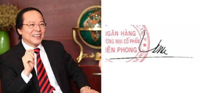 Những người giàu nhất Việt Nam ký tên như thế nào? ảnh 10