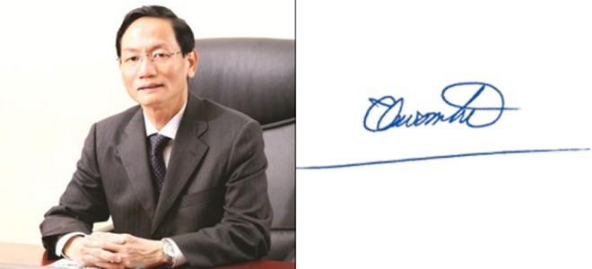 Những người giàu nhất Việt Nam ký tên như thế nào? ảnh 11