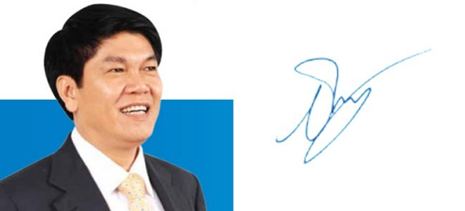 Những người giàu nhất Việt Nam ký tên như thế nào? ảnh 2