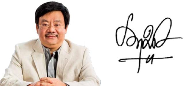 Những người giàu nhất Việt Nam ký tên như thế nào? ảnh 5