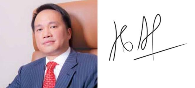 Những người giàu nhất Việt Nam ký tên như thế nào? ảnh 7