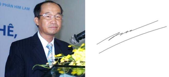 Những người giàu nhất Việt Nam ký tên như thế nào? ảnh 9