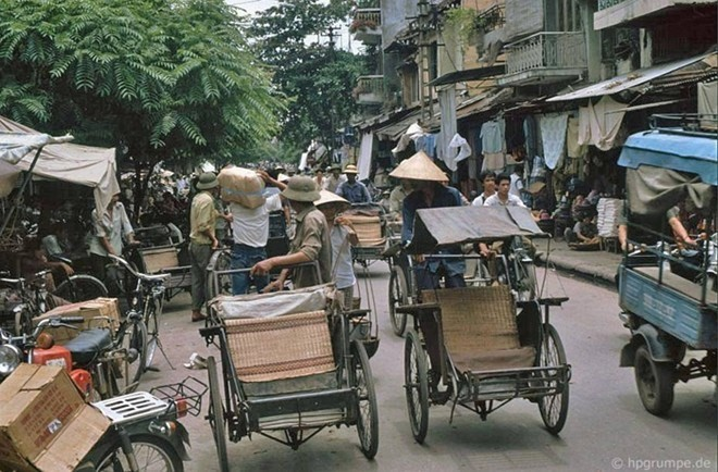 Hình ảnh độc về Hà Nội năm 1991 qua ống kính người Đức ảnh 10