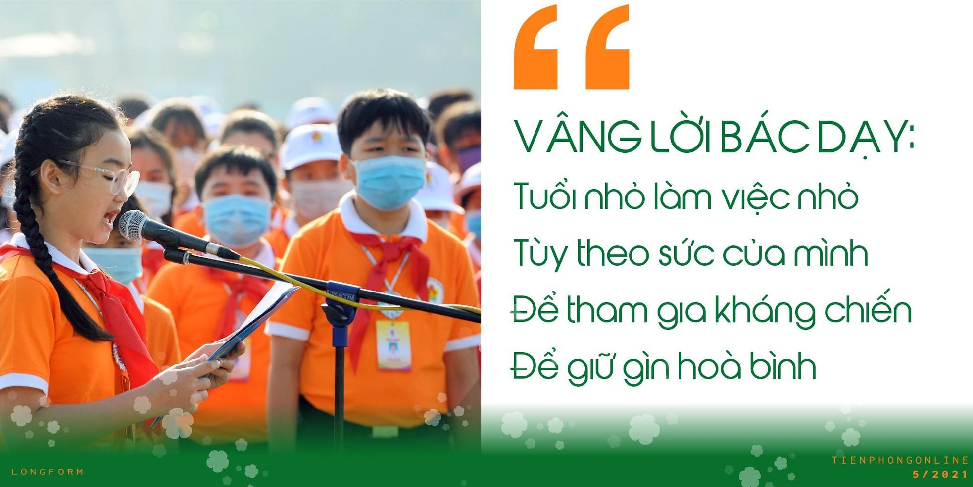 Đội TNTP Hồ Chí Minh – 80 mùa hoa lớn lên cùng đất nước ảnh 7