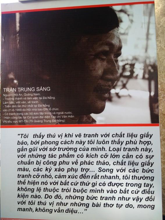 Tranh xé dán ấn tượng của nhà báo Trần Trung Sáng ảnh 1