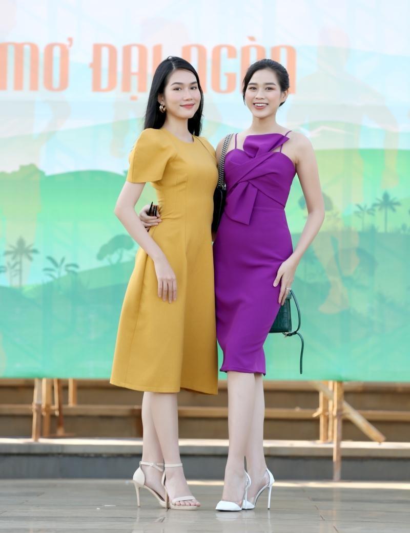 Hoa hậu Đỗ Thị Hà và Á hậu Phương Anh khoe sắc giữa núi rừng Tây Nguyên ảnh 1