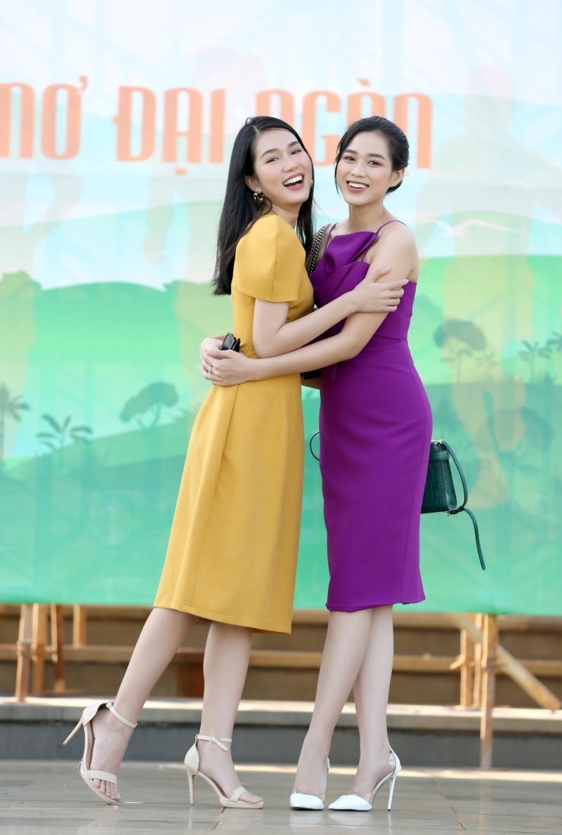 Hoa hậu Đỗ Thị Hà và Á hậu Phương Anh khoe sắc giữa núi rừng Tây Nguyên ảnh 5