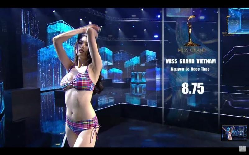 Á hậu Ngọc Thảo gây tiếc nuối khi dừng chân ở Top 20 Miss Grand International 2020 ảnh 2