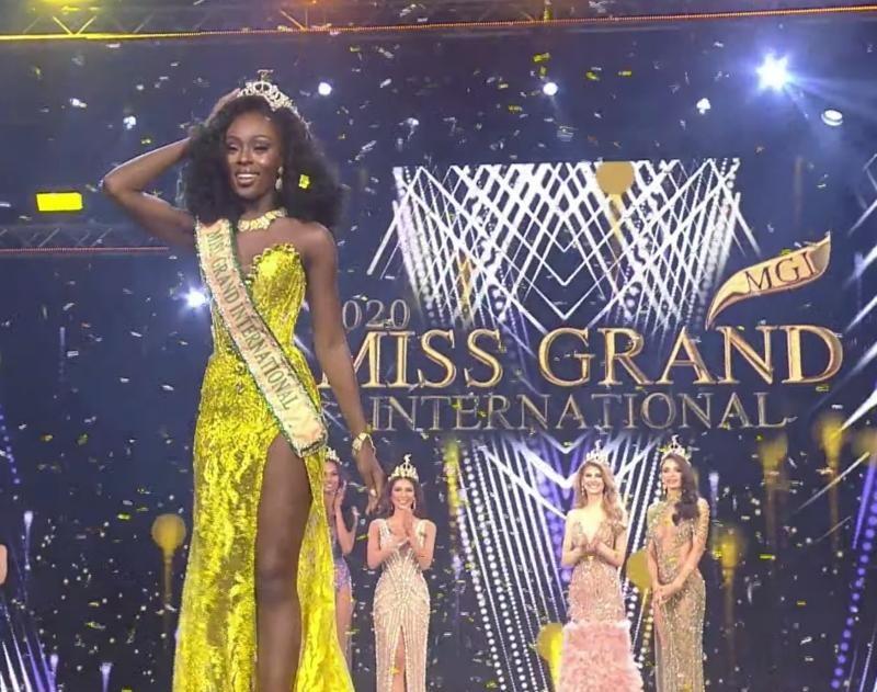 Ngắm nhan sắc Evelyn, thí sinh vượt qua Ngọc Thảo đoạt vương miện Miss Grand International ảnh 5