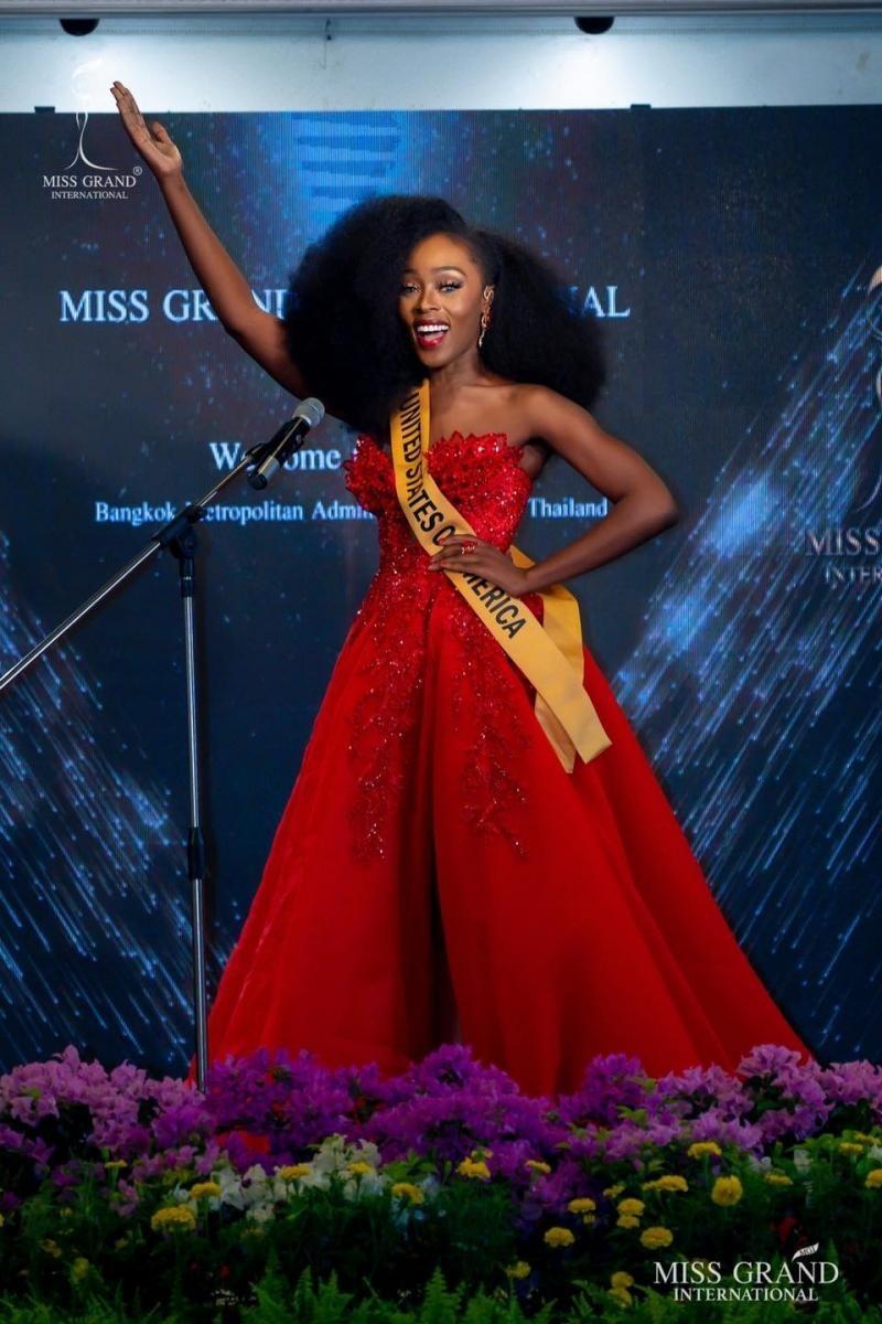Ngắm nhan sắc Evelyn, thí sinh vượt qua Ngọc Thảo đoạt vương miện Miss Grand International ảnh 8