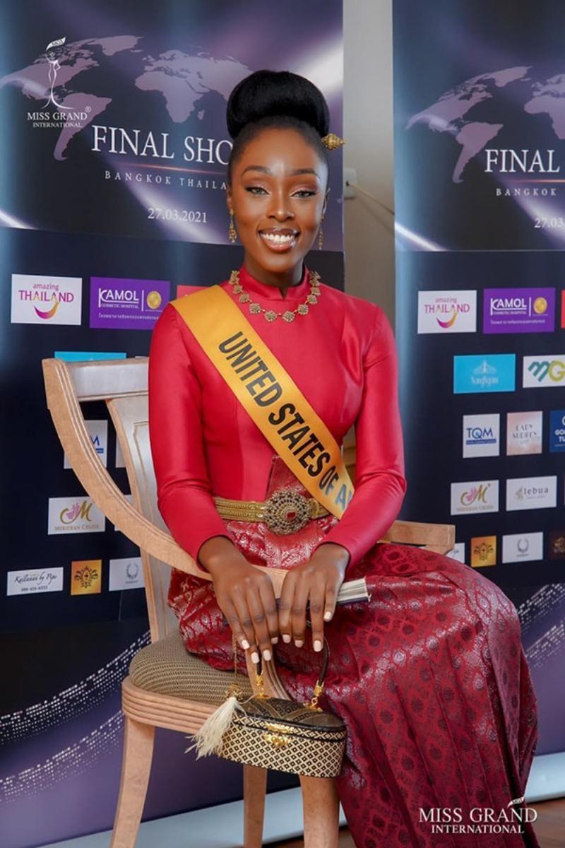 Ngắm nhan sắc Evelyn, thí sinh vượt qua Ngọc Thảo đoạt vương miện Miss Grand International ảnh 9