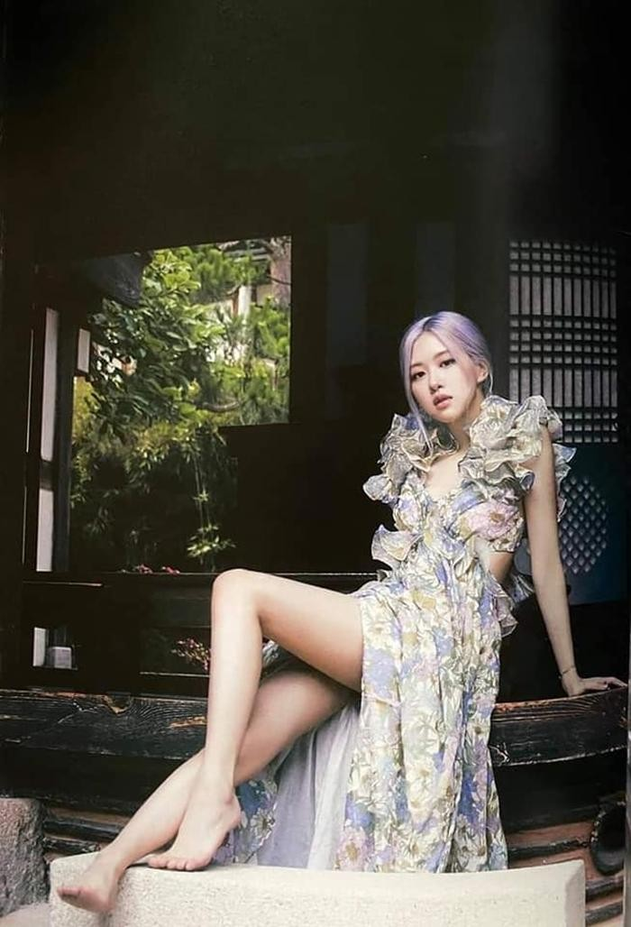 Ngọc Trinh xinh như công chúa, nhưng lại khiến liên tưởng đến Momo TWICE và Rosé BLACKPINK ảnh 7