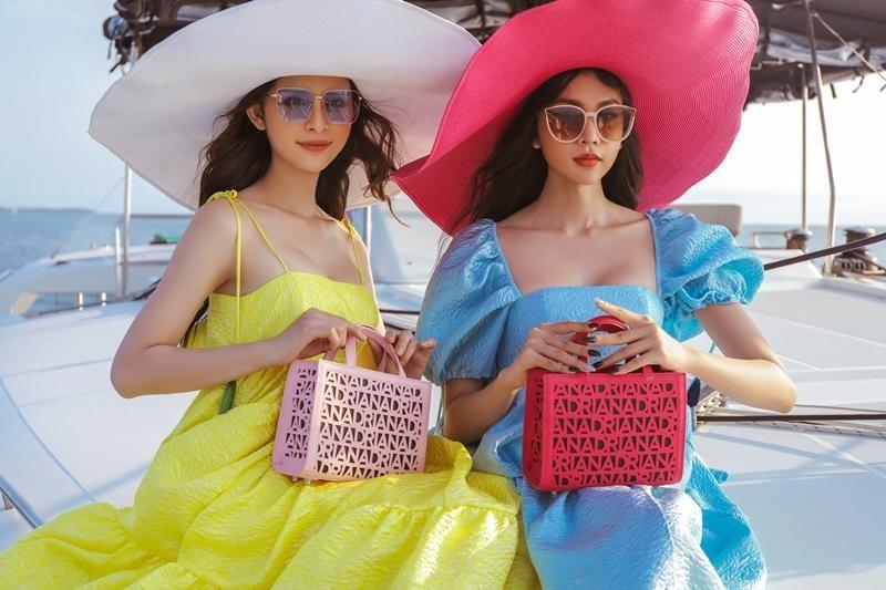 Hoa hậu chuyển giới Trân Đài cùng 2 Á hậu gợi ý trang phục đi biển đầy quyến rũ ảnh 9