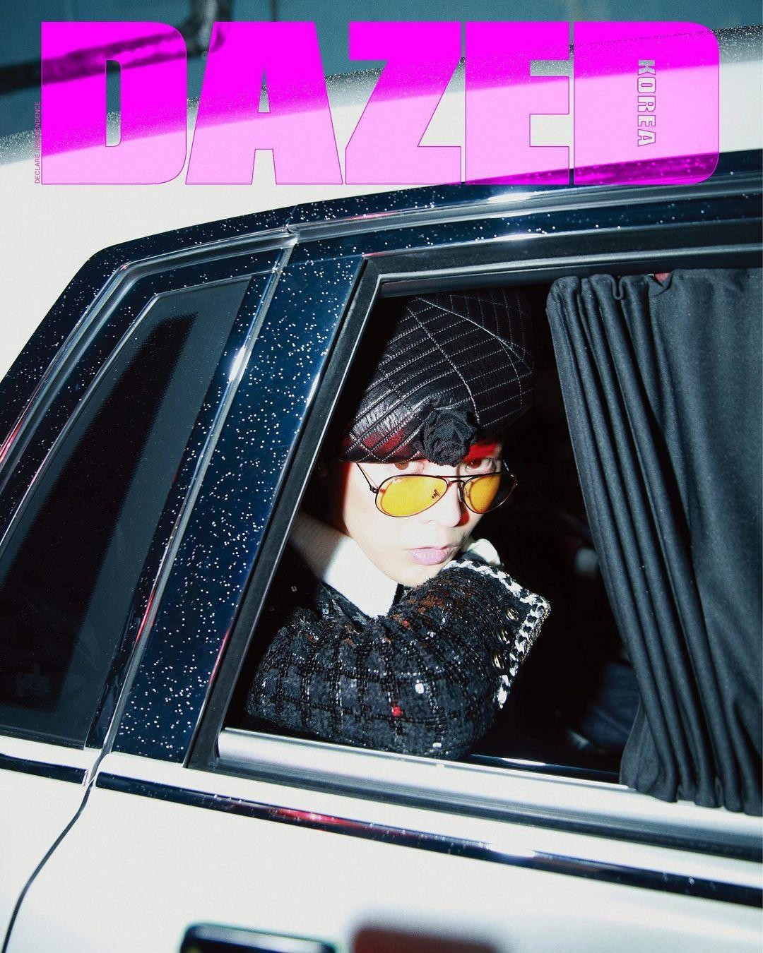 """Xứng danh """"Ông hoàng K-Pop"""", G-Dragon lên bìa tạp chí với 8 phiên bản và phủ kín 58 trang ảnh 6"""