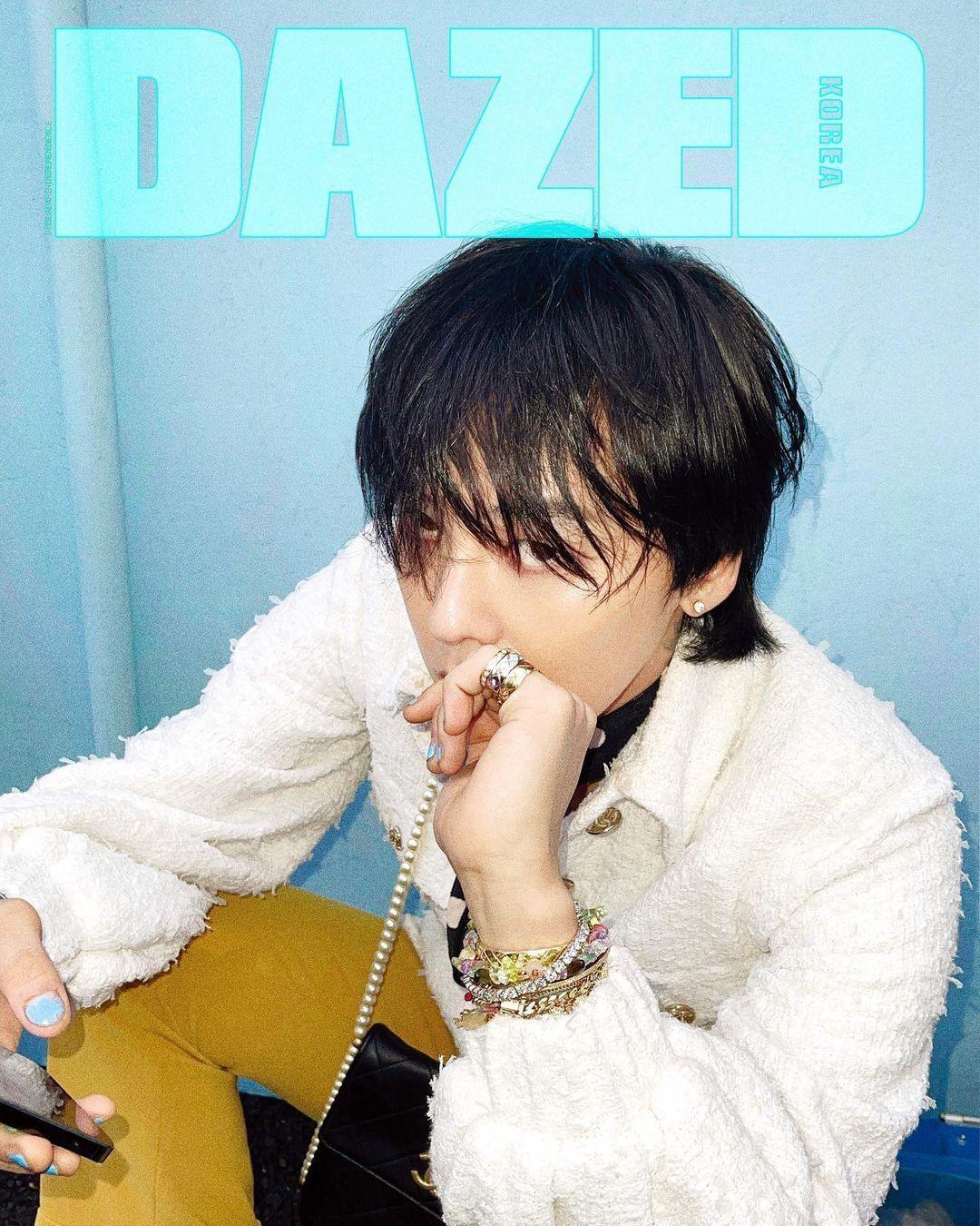 """Xứng danh """"Ông hoàng K-Pop"""", G-Dragon lên bìa tạp chí với 8 phiên bản và phủ kín 58 trang ảnh 5"""