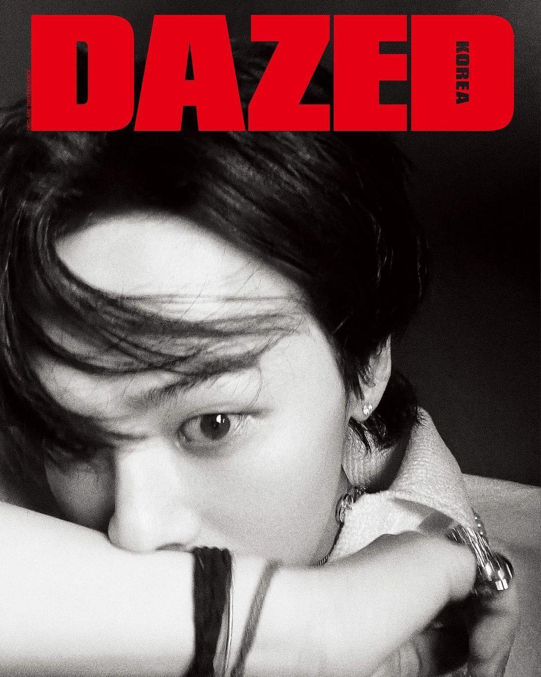 """Xứng danh """"Ông hoàng K-Pop"""", G-Dragon lên bìa tạp chí với 8 phiên bản và phủ kín 58 trang ảnh 1"""