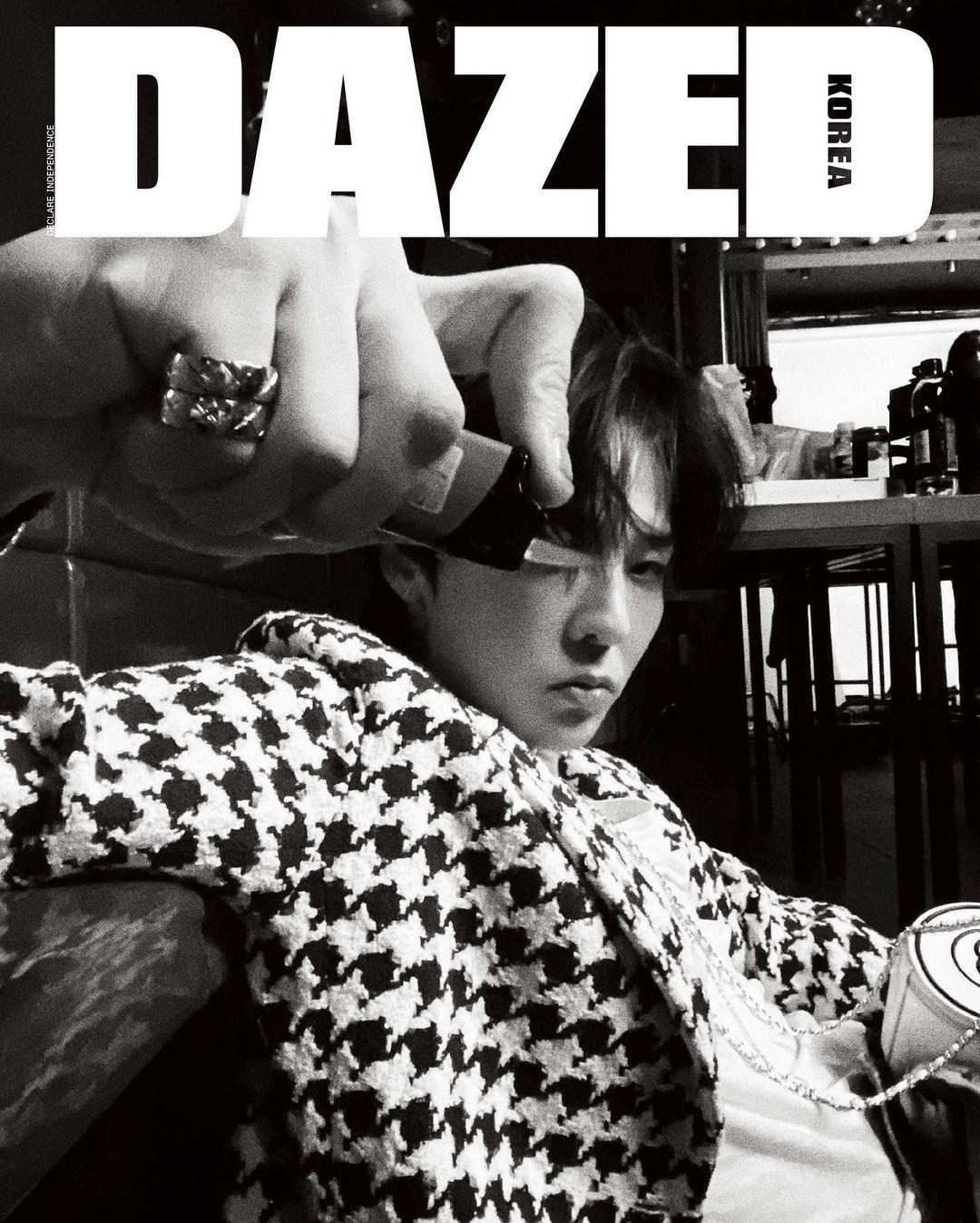 """Xứng danh """"Ông hoàng K-Pop"""", G-Dragon lên bìa tạp chí với 8 phiên bản và phủ kín 58 trang ảnh 2"""