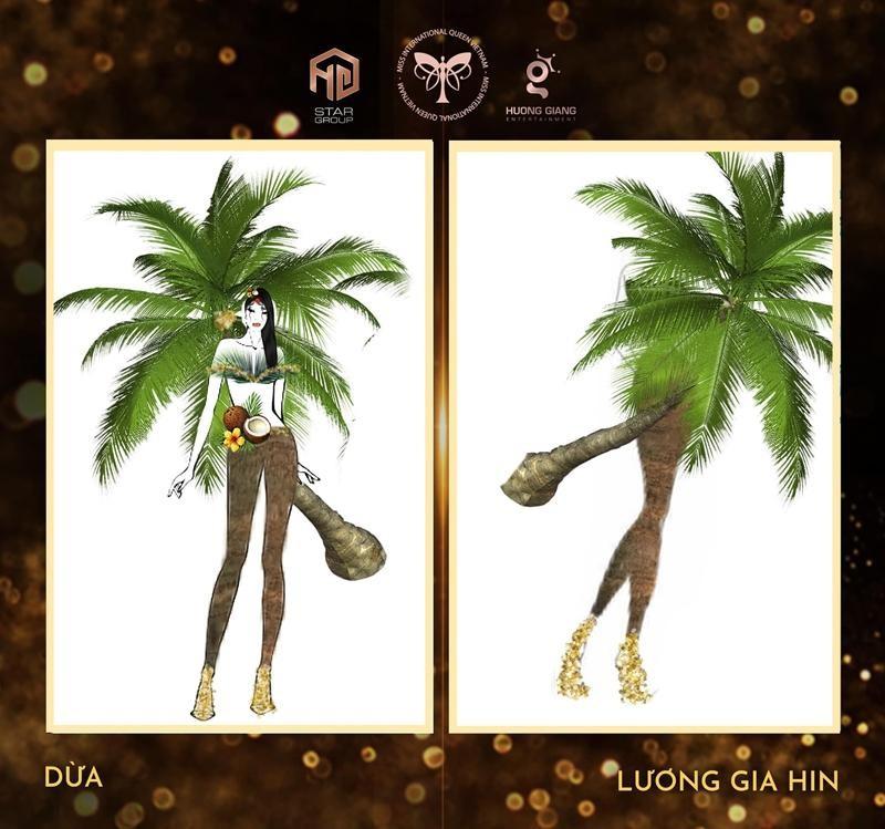"""Ý tưởng quốc phục cực """"bá đạo"""" cho Hoa hậu Trân Đài, sốc nhất là thiết kế """"Cầu Tõm"""" ảnh 2"""