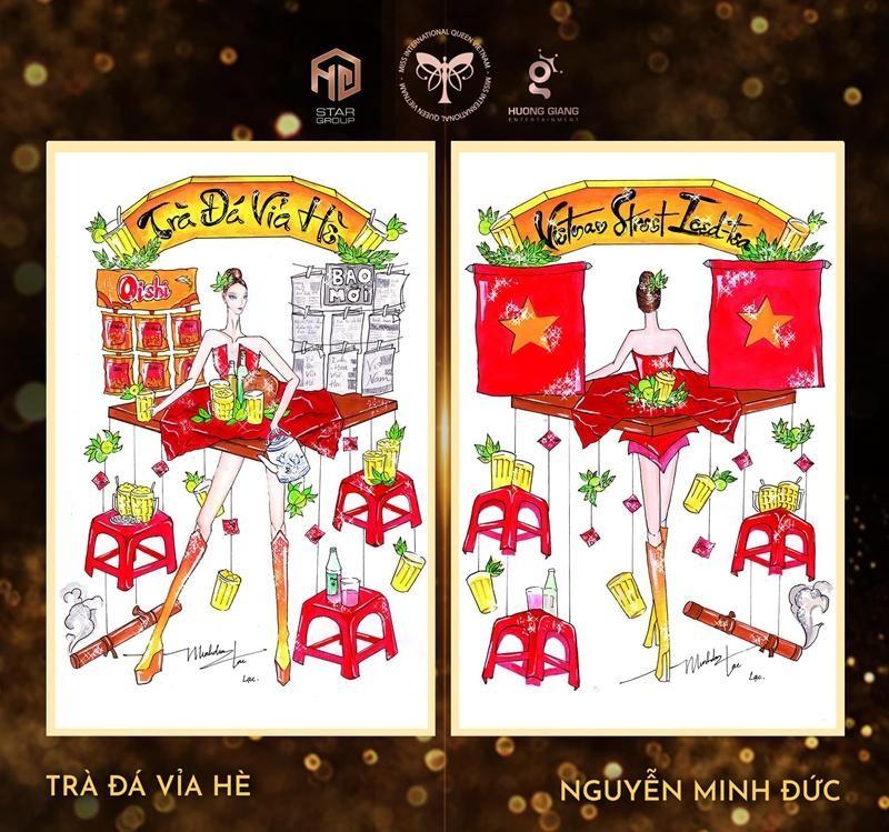 """Ý tưởng quốc phục cực """"bá đạo"""" cho Hoa hậu Trân Đài, sốc nhất là thiết kế """"Cầu Tõm"""" ảnh 6"""