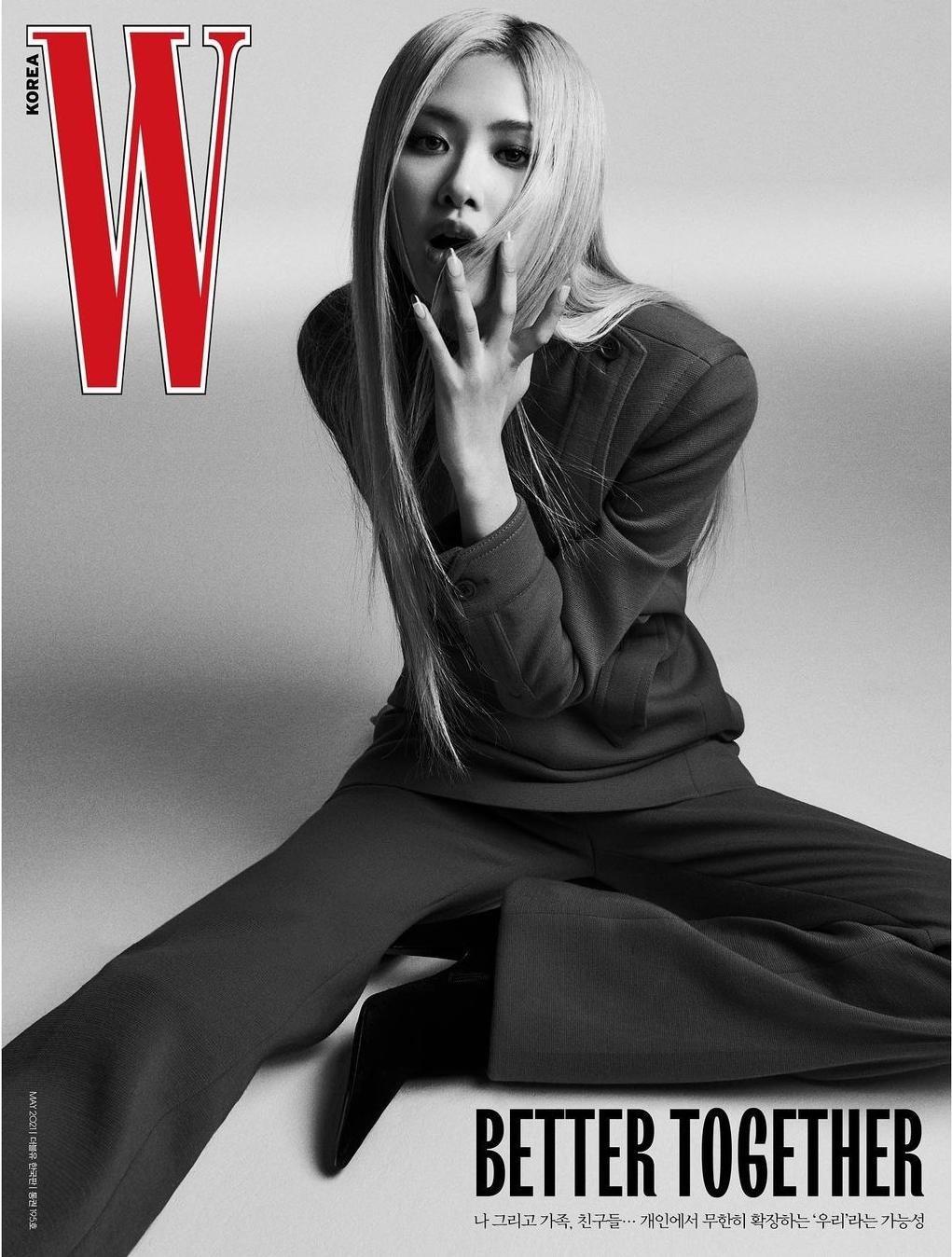 Rosé tiếp tục thể hiện đẳng cấp đại sứ thương hiệu, lên bìa W Hàn với 5 phiên bản ấn tượng ảnh 2
