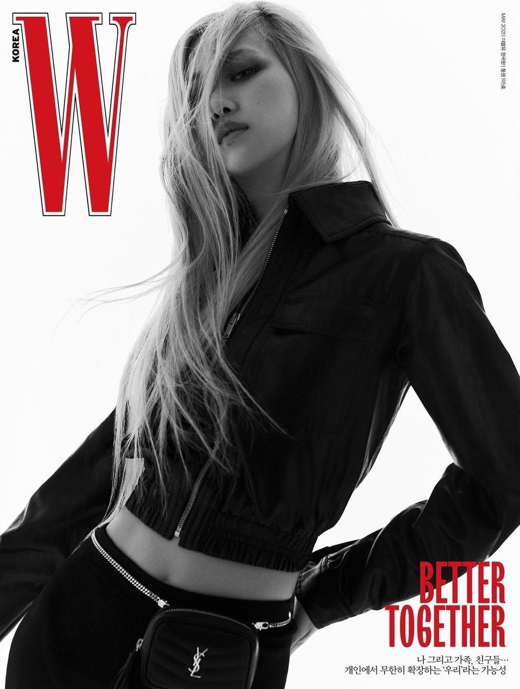 Rosé tiếp tục thể hiện đẳng cấp đại sứ thương hiệu, lên bìa W Hàn với 5 phiên bản ấn tượng ảnh 3