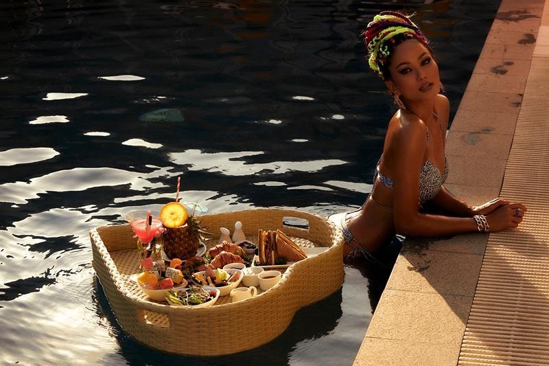 Tung bộ ảnh bikini chào mùa Hè, Hoa hậu H'Hen Niê khoe đường cơ bụng số 11 cực chuẩn ảnh 4