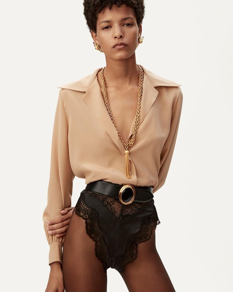 Stylist đã biến tấu thế nào mà Rosé mặc hẳn quần chíp lên bìa W Hàn vẫn không phản cảm? ảnh 5