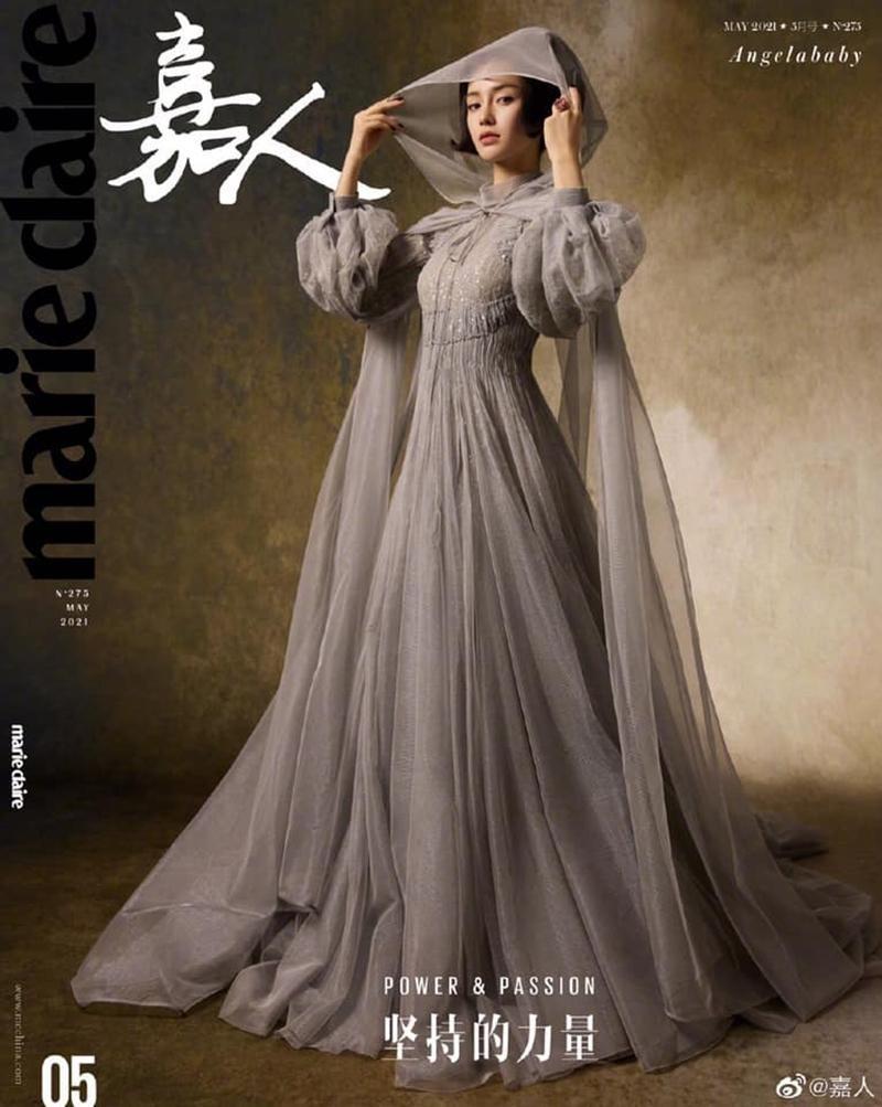 Làm đại sứ thương hiệu phải đỉnh như Angela Baby, lên bìa 2 tạp chí lớn trong cùng tháng ảnh 2