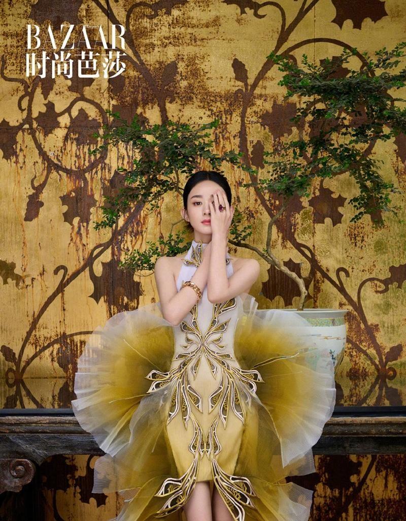 Triệu Lệ Dĩnh được Dior đẩy lên bìa tạp chí lớn, netizen liên tục nhắc tên đại sứ Jisoo ảnh 10