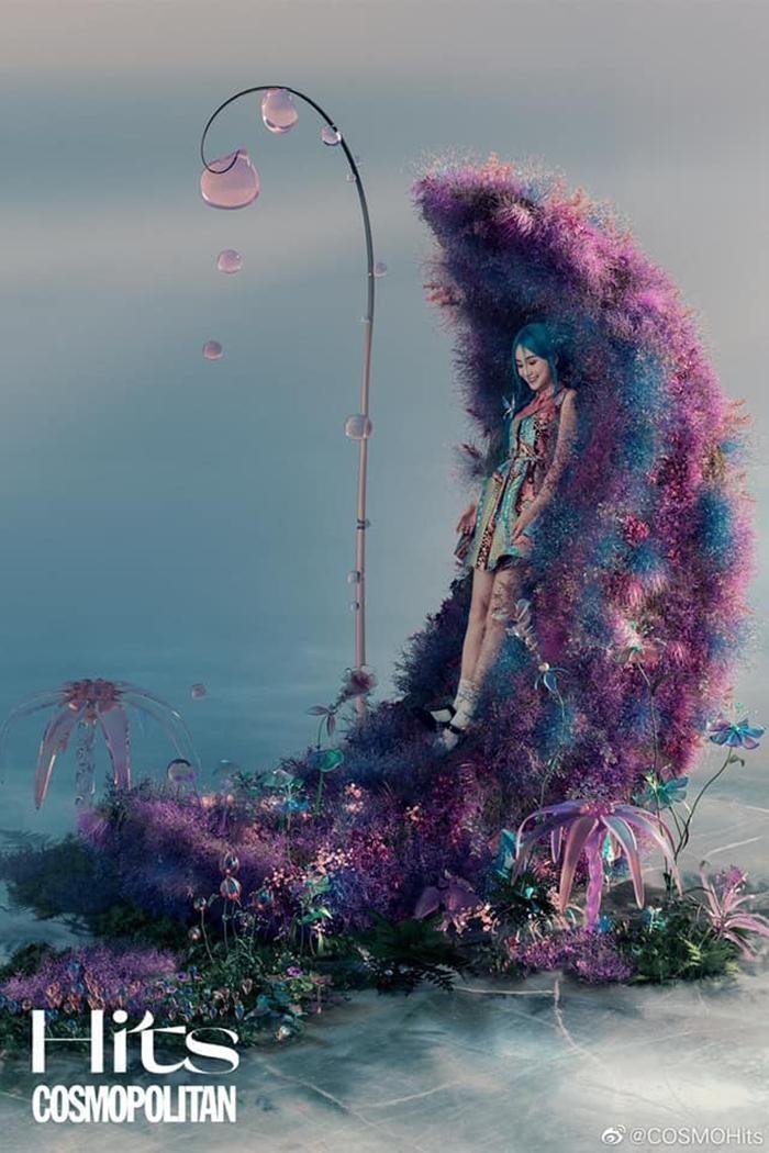 Angela Baby lại lên bìa báo với hình ảnh đậm chất fantasy, Dior có đang quá thiên vị? ảnh 7