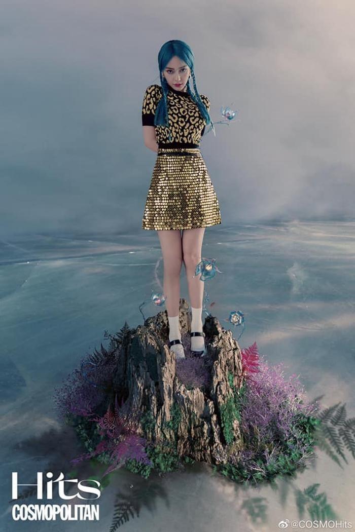 Angela Baby lại lên bìa báo với hình ảnh đậm chất fantasy, Dior có đang quá thiên vị? ảnh 5