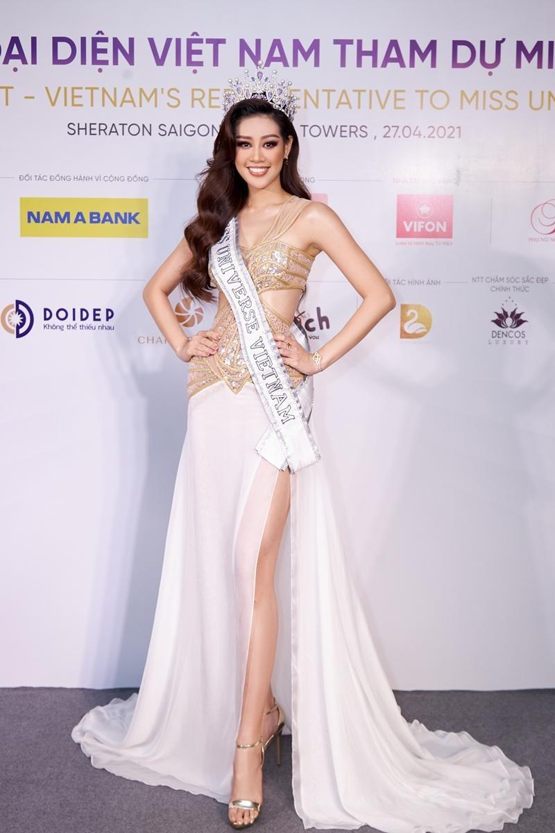 Hoa hậu H'Hen Niê lấn át đàn em trong buổi khởi động tuyển sinh Miss Universe Vietnam 2021 ảnh 1