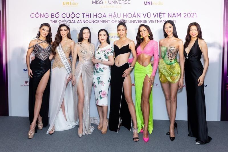 Hoa hậu H'Hen Niê lấn át đàn em trong buổi khởi động tuyển sinh Miss Universe Vietnam 2021 ảnh 12