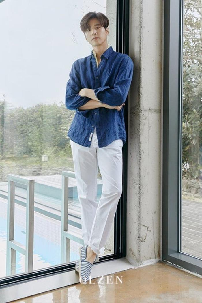 Nhan sắc ở tuổi 43 của Won Bin gây choáng ngợp, netizen Hàn không tin đây là ảnh mới chụp ảnh 3
