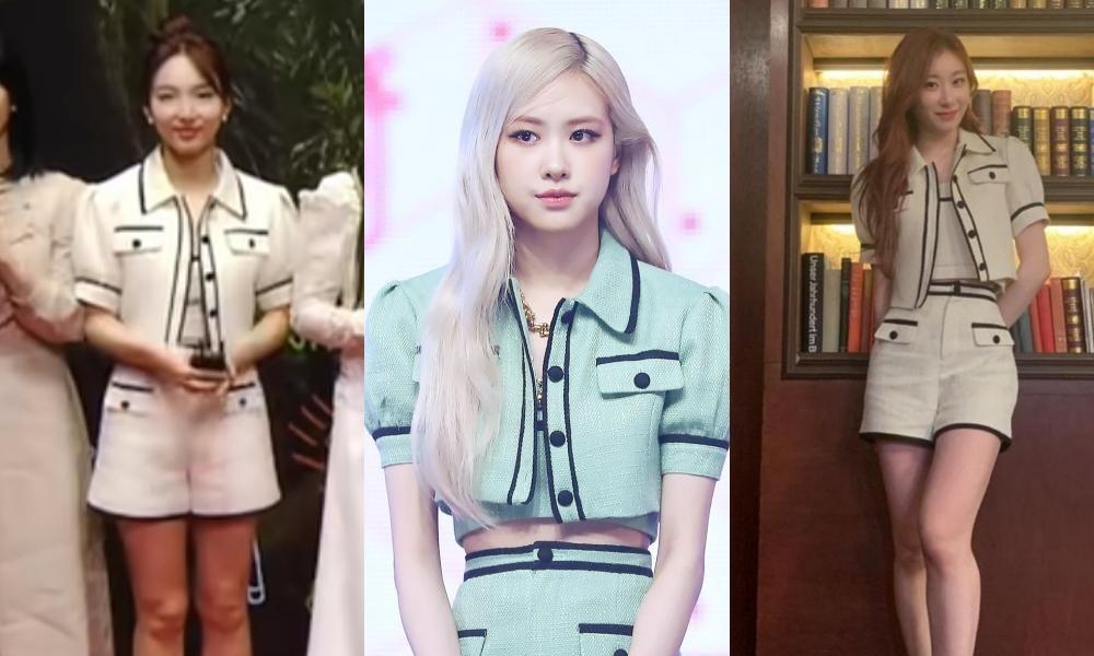 """Stylist BLACKPINK """"mix đồ"""" cao tay, Nayeon TWICE, Chaeryeong ITZY """"bít cửa"""" đọ với Rosé ảnh 9"""