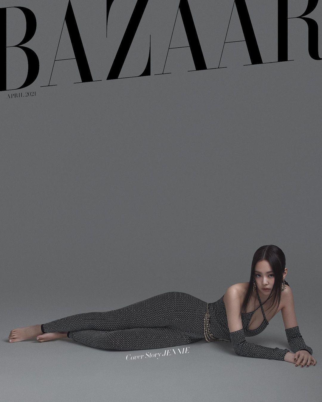 Jennie BLACKPINK liệu có lép vế khi đụng độ bìa báo với Lily-Rose Depp và Kendall Jenner? ảnh 1
