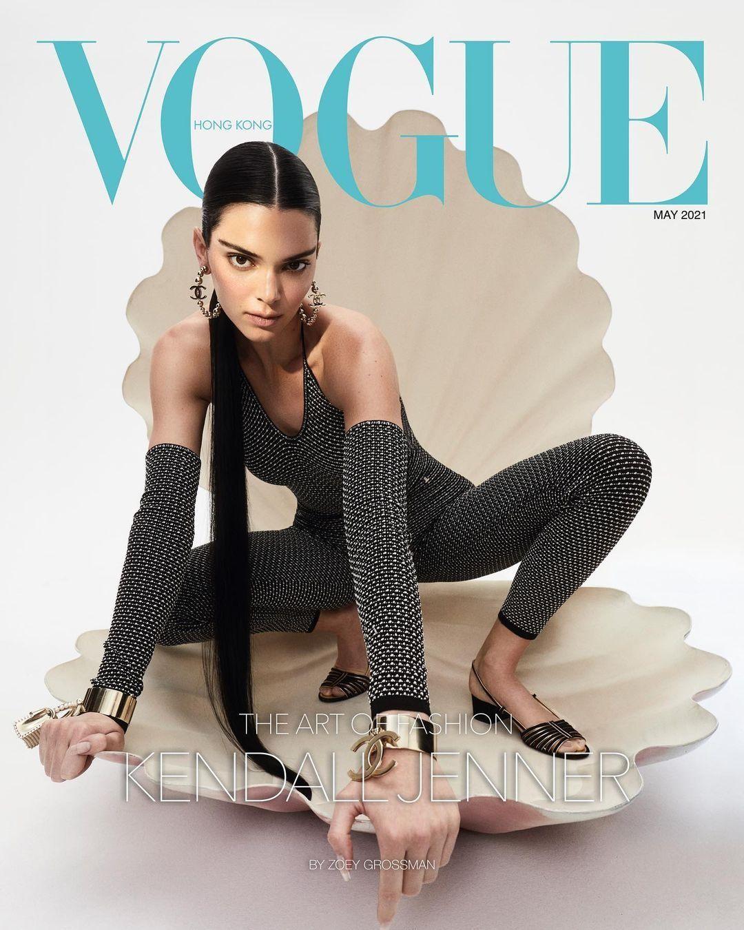 Jennie BLACKPINK liệu có lép vế khi đụng độ bìa báo với Lily-Rose Depp và Kendall Jenner? ảnh 6