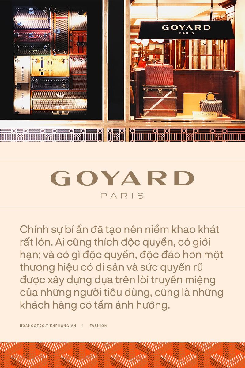 """Không phải Louis Vuitton hay Hermès, Goyard mới đang là lựa chọn của """"dân chơi đồ hiệu""""! ảnh 5"""