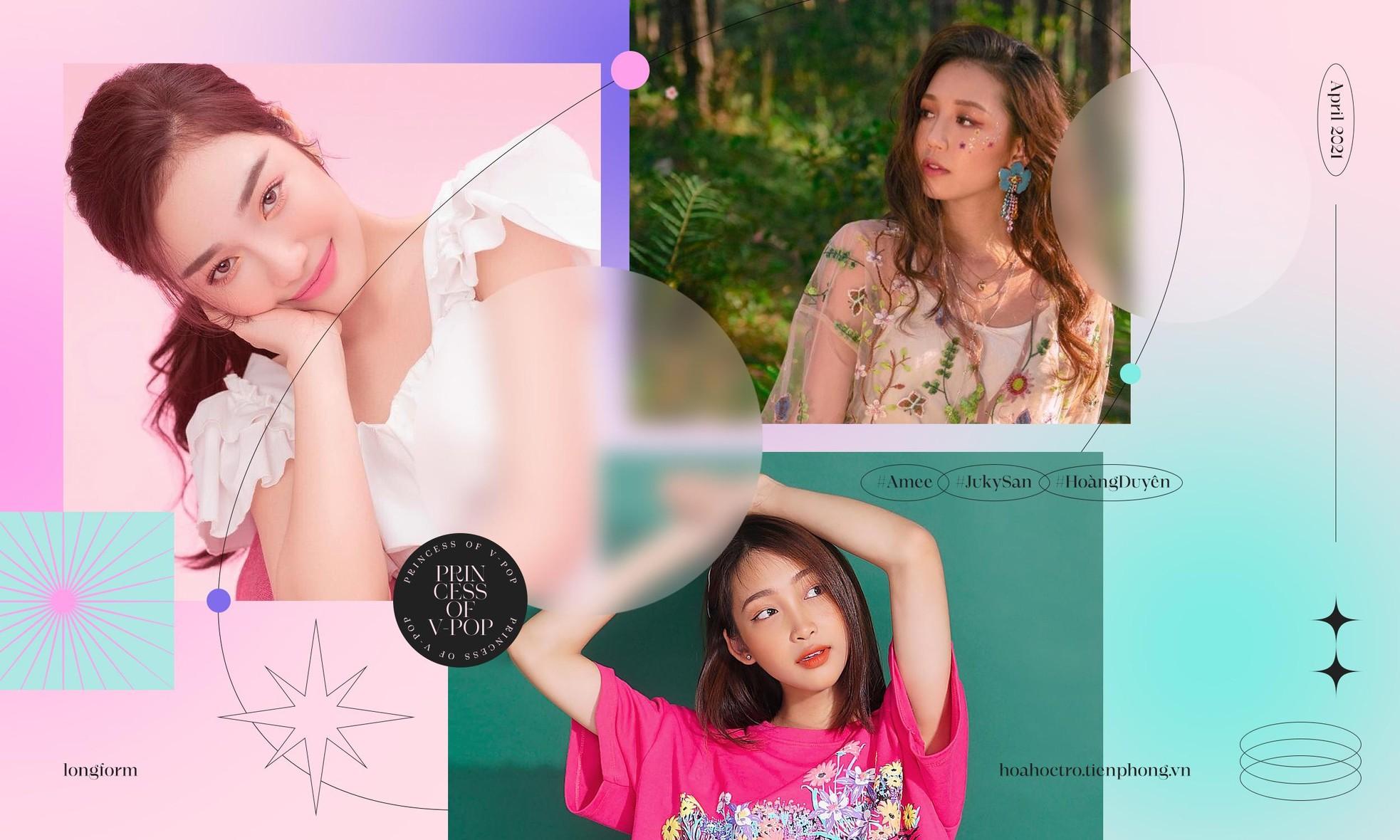 """Đặt ngôi sao hi vọng vào 3 nàng """"công chúa mới"""" của V-Pop: Amee, Hoàng Duyên, Juky San  ảnh 8"""