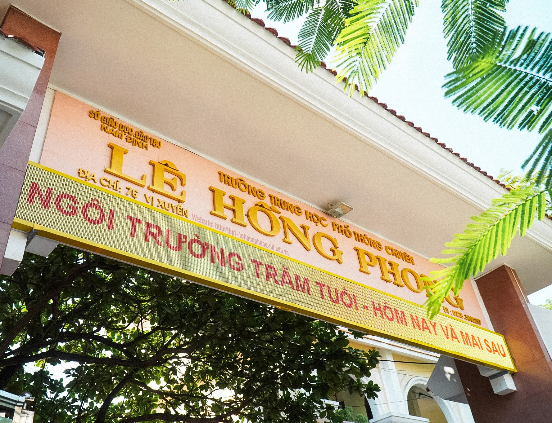 """THPT Chuyên Lê Hồng Phong (Nam Định): """"Đầu cầu"""" của những ước mơ ảnh 2"""