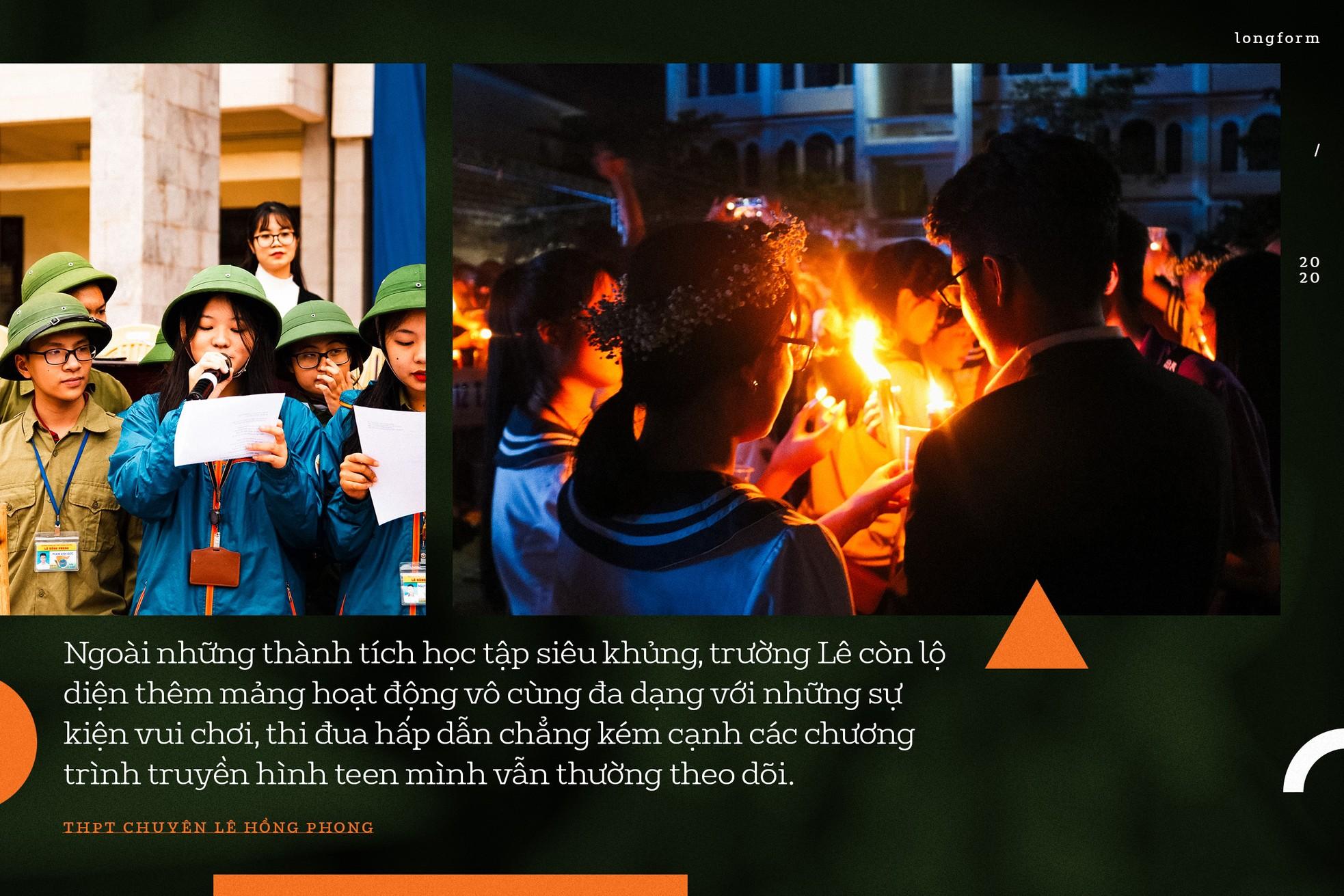 """THPT Chuyên Lê Hồng Phong (Nam Định): """"Đầu cầu"""" của những ước mơ ảnh 8"""