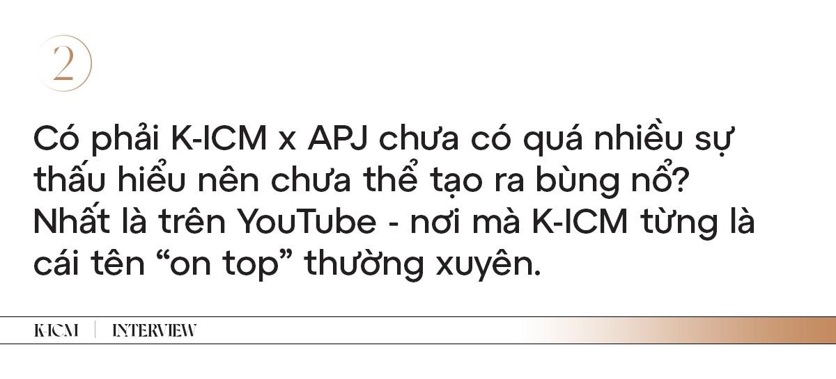 """K-ICM: """"Muốn gửi lời xin lỗi chính bản thân mình vì đã chịu tổn thương quá nhiều"""" ảnh 2"""
