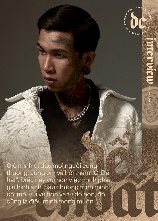 """Dế Choắt: Sau Rap Việt, đi đâu mọi người cũng thương, cũng ôm và hỏi thăm """"Ô, Dế hả!"""" ảnh 1"""